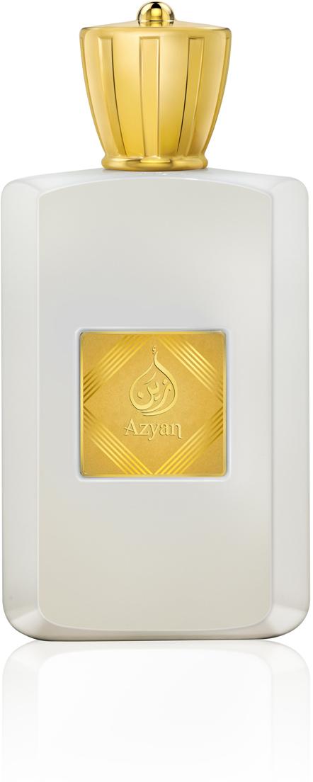 Afnan Azyan White Парфюмерная вода женская, 100 мл211739Мягкий цветочный аромат с коктейлем из цитрусовых нот и ванили