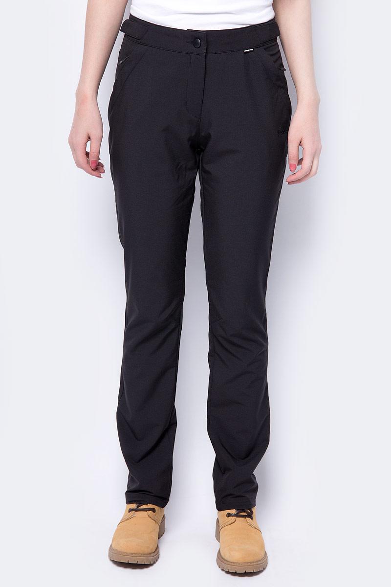 Брюки женские Rukka, цвет: черный. 979365253RV_990. Размер 42 (50) брюки утепленные женские rukka цвет черный 878665241rv 990 размер 40 48