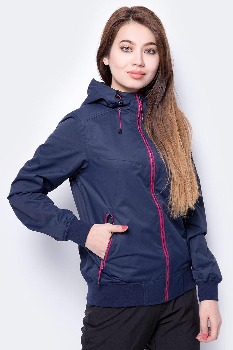 Куртка женская Icepeak, цвет: темно-синий. 953112679IV_384. Размер 40 (46) брюки утепленные женские icepeak цвет темно синий 854020542iv 390 размер 34 40