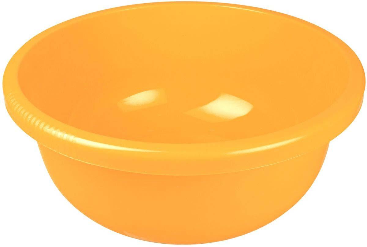 Таз Plast Team, цвет: желтый, 9,5 л песочница бассейн marian plast palplay лодочка желтый 308