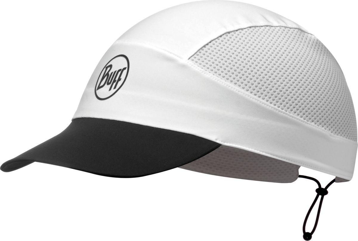 Кепка Buff Pack Run Cap R-Solid White, цвет: белый. 113702.000.10.00. Размер 58113702.000.10.00Ультралегкая компактная, двухсторонняя кепка от Buff была разработана для таких видов активности как бег, треккинг или пешие прогулки. Обеспечивает высокоэффективную защиту от солнца и эффективно отводит влагу. Компактная - в сложенном виде отлично помещается в карман.
