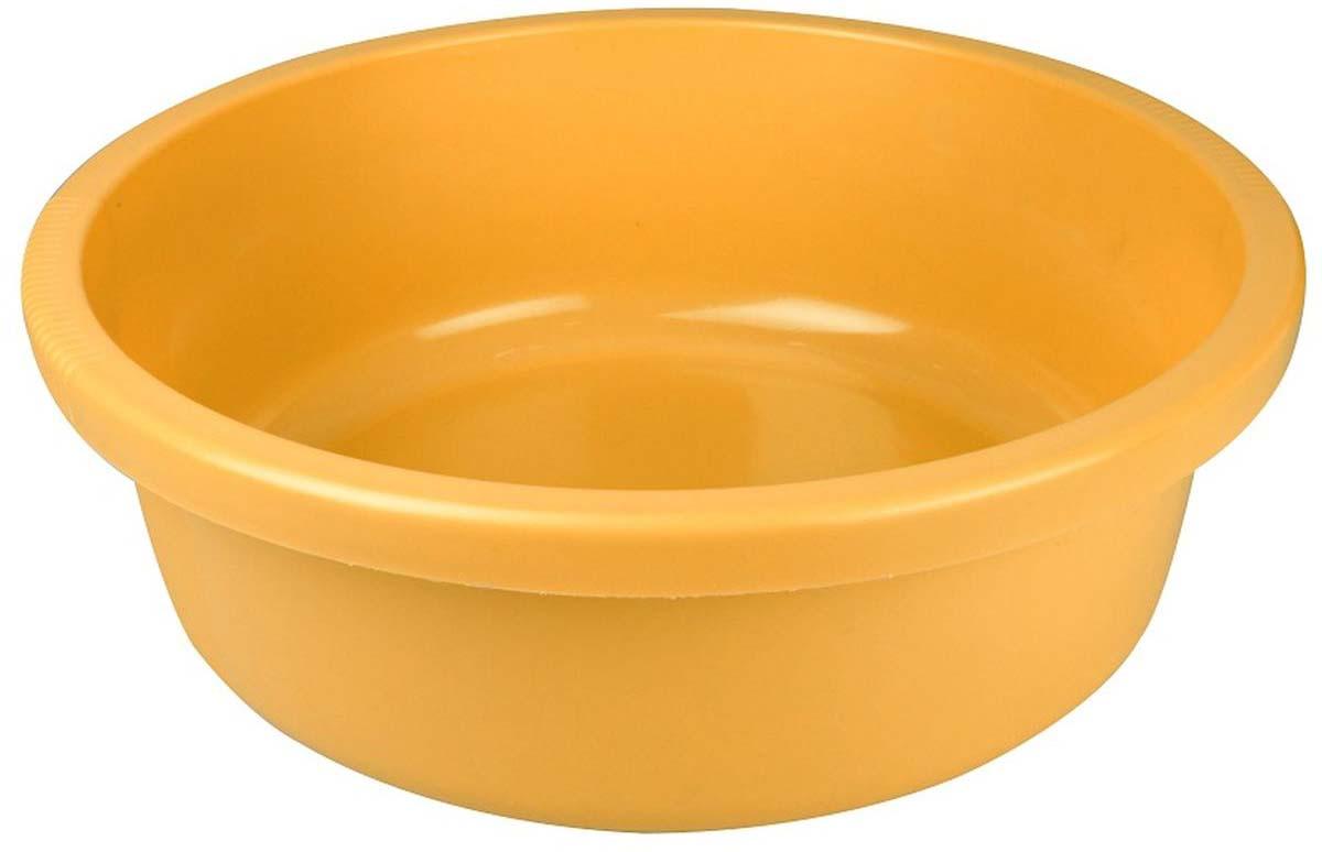 Таз Plast Team, цвет: желтый, 18 л песочница бассейн marian plast palplay лодочка желтый 308