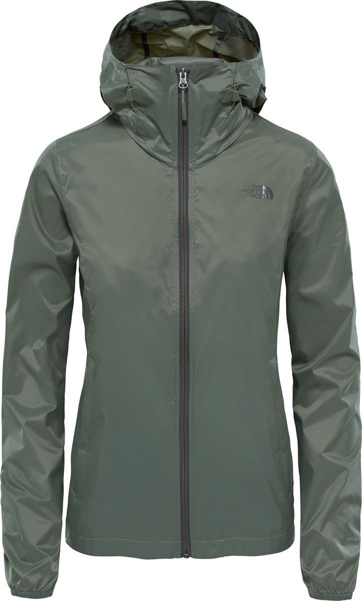 Куртка женская The North Face W Cyclone 2 Hoodie, цвет: хаки. T93BPYZCE. Размер XS (40)