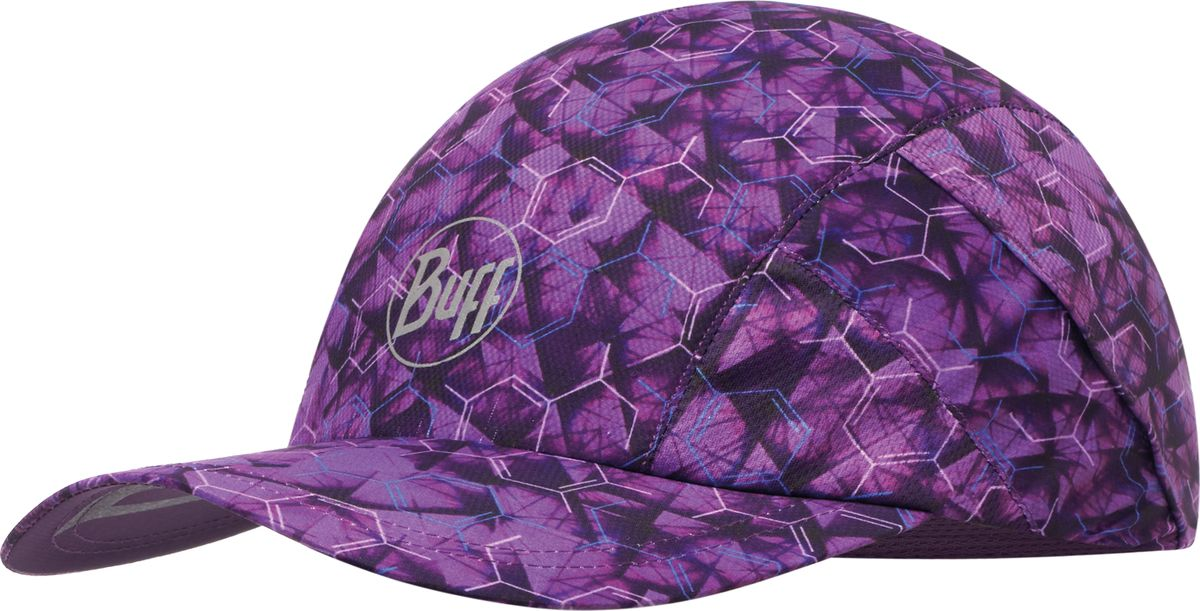 Купить Кепка Buff Pro Run Cap R-Adren Purple Lilac, цвет: лиловый. 117231.625.10.00. Размер 58