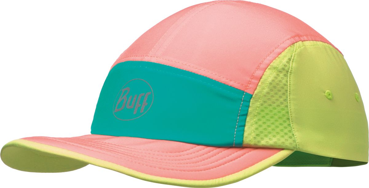 Кепка Buff Run Cap Blocks Multi, цвет: розовый, салатовый. 117188.555.10.00. Размер 58117188.555.10.00Легкая компактная кепка BUFF Run Cap была разработана для пеших прогулок и треккинга.Удобная, стильная и незаменимая вещь среди любителей активного отдыха вне зависимости от вида деятельности.Данная модель является уникальным дополнением к любому спортивному костюму.В модели используются материалы и технологии: - технология Silver Plus; - гибкий козырек из 100% полиуретана с эффектом памяти формы; - материал FastwickExtraPlus; - вставки по бокам из сетчатого материала для циркуляции воздуха.