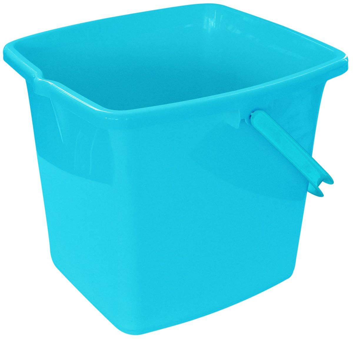 Ведро Plast Team, прямоугольное, цвет: бирюзовый, 16 л механизм сливной alca plast a08
