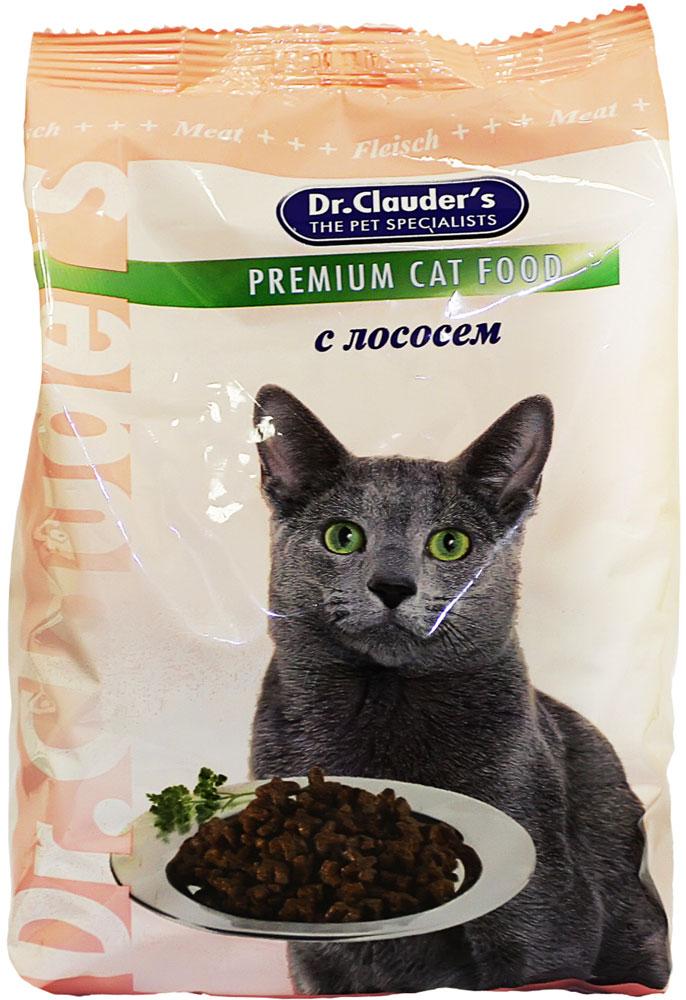 """Корм сухой """"Dr. Clauder's"""" для кошек, с лососем, 15 кг"""