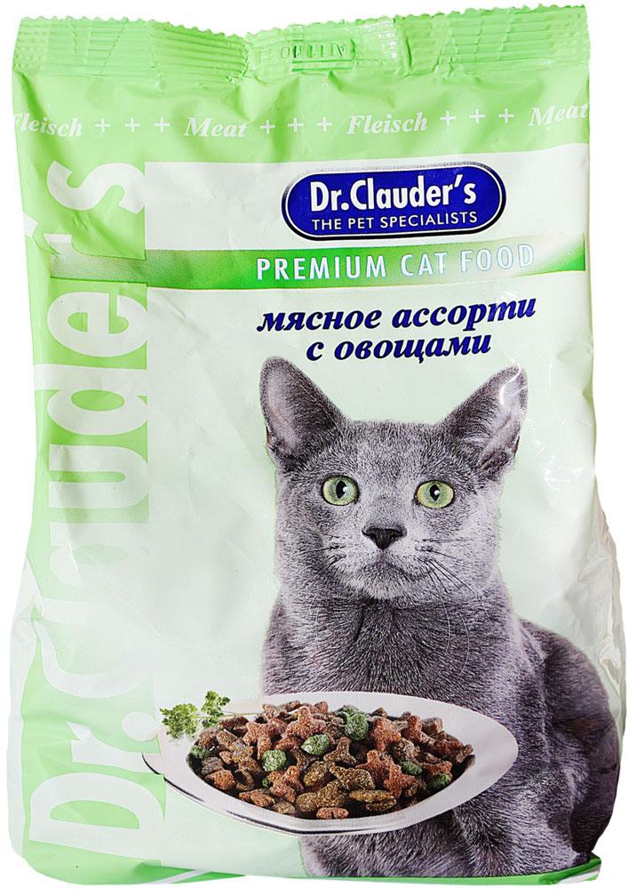 Корм сухой Dr. Clauders для кошек, мясное ассорти с овощами, 15 кг00100055Ингредиенты Мясо и мясные продукты (курица, свинина, утка), злаки, рыба и рыбные продукты, горох, мякоть свеклы, куриныйжир, минеральные вещества и витамины. Содержание основных питательных веществ Протеин 32% Жиры 12,5% Клетчатка 2% Влажность 9,5% Уважаемые клиенты!Обращаем ваше внимание на возможные изменения в дизайне упаковки. Качественные характеристики товараостаются неизменными. Поставка осуществляется в зависимости от наличия на складе.