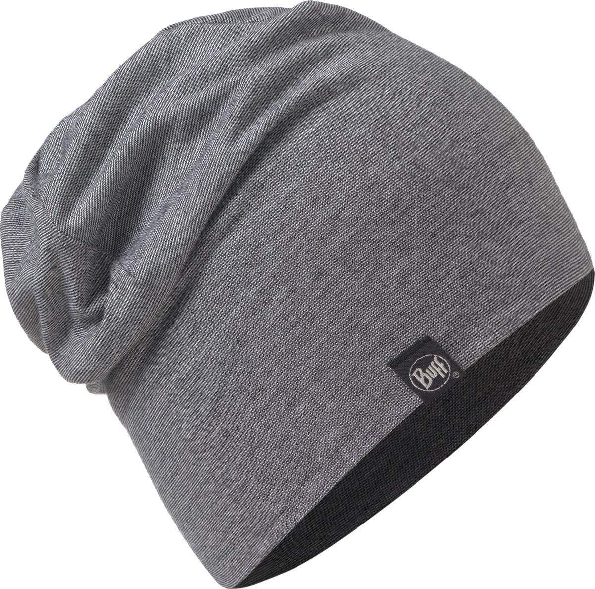 Шапка Buff Cotton Hat Grey Stripes, цвет: серый. 117113.937.10.00. Размер 58117113.937.10.00Шапка-бини от Buff выполнена из мягкого хлопкового трикотажа. Такая шапка обеспечит вам тепло и комфорт и прекрасно дополнит образ.