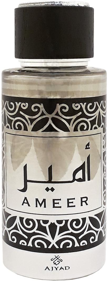 Ajyad Ameer Парфюмерная вода, 100 млОА2514AHLAN WA SAHLAN Туалетные духи 100мл спрей. Принадлежит к группе амбровых цветочно-древесных;Основные ноты: фиалка, герань, лаванда, сандал, кедр, амбра.