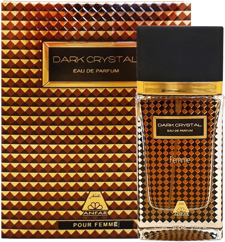 Anfar Dark Crystal Pour Femme Парфюмерная вода женская, 75 мл clinique набор aromatics black парфюмерная вода спрей 50 мл лосьон для тела 75 мл гель для душа 75 мл