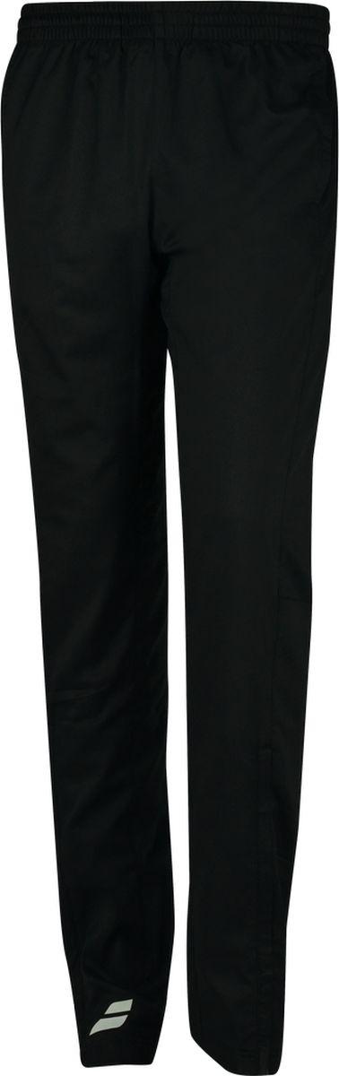 Брюки спортивные мужские Babolat Core Club, цвет: черный. 3MS18131-2000. Размер L (50)3MS18131-2000Удобные мужские спортивные брюки Babolat Core Club, выполненные из полиэстера, великолепно подойдут для отдыха, повседневной носки, а также для занятий спортом. Модель прямого кроя и средней посадки имеет широкую эластичную резинку на поясе. Спереди изделие имеет два втачных кармана.