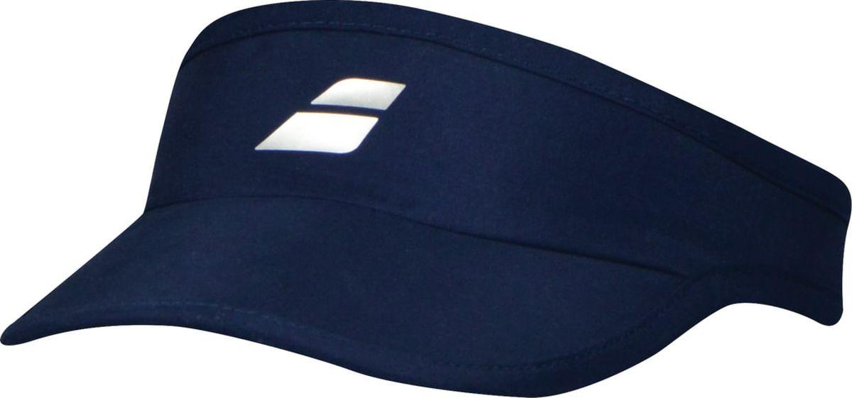 Козырек Babolat Visor, цвет: синий. 5WS18231-4000. Размер универсальный5WS18231-4000Козырек Babolat Visor является отличным аксессуаром для занятий спортом. Суперлегкий козырек впитывает влагу и обеспечивает превосходную циркуляцию воздуха.