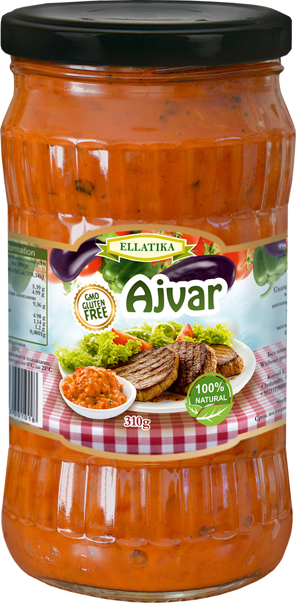 Ellatika Айвар сладкий, 310 г хлеб