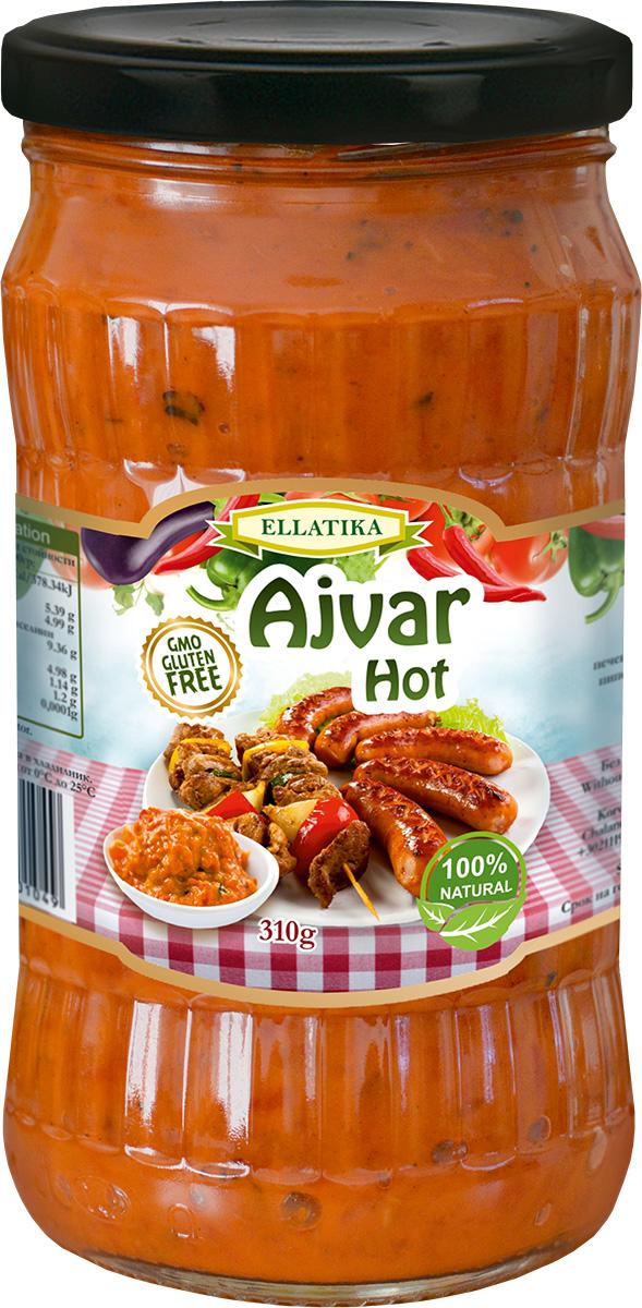 Ellatika Айвар острый, 310 г хлеб