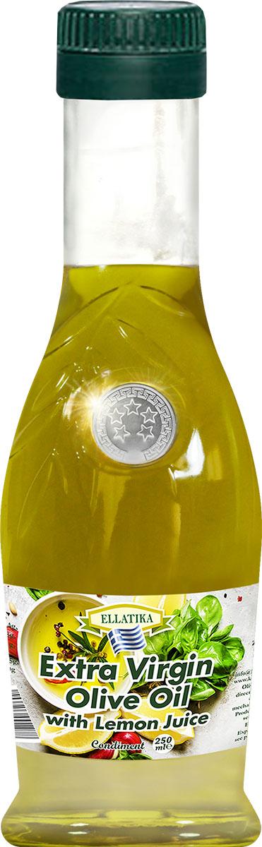 Ellatika Оливковое масло extra virgin с лимонным соком, 250 мл