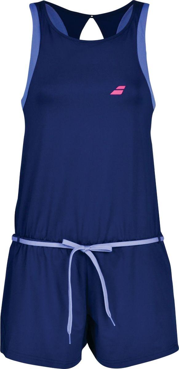 Комбинезон женский Babolat Perf Romper, цвет: синий. 2WS18093-4000. Размер L (50) babolat футболка мужская babolat perf crew neck tee размер 50
