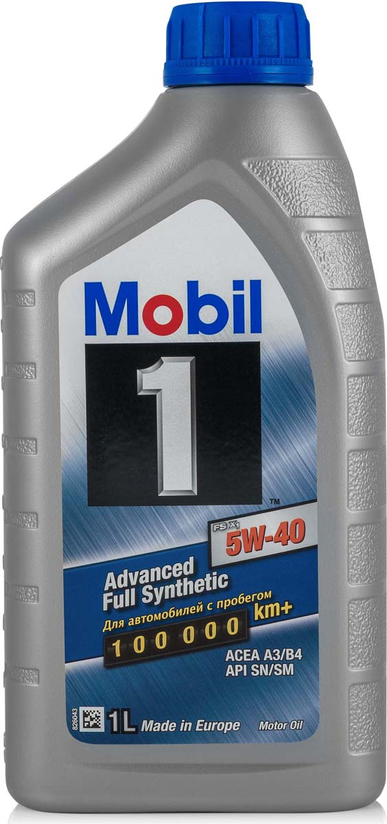 Купить Масло моторное Mobil 1 FS x1, синтетическое, 5W-40, 1 л