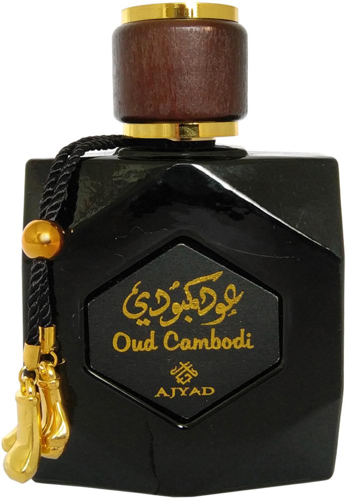 Ajyad Oud Cambodi Парфюмерная вода, 100 млОА2289OUD CAMBODIТуалетные духи 100 мл спрей. Принадлежит к группе восточно-древесных. Основные ноты: розового дерева, мускуса.