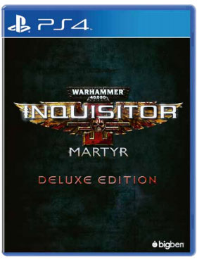 Warhammer 40,000: Inquisitor - Martyr. Deluxe Edition (PS4) warhammer 40 000 inquisitor – martyr imperium edition [xbox one]