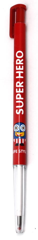 Еж-стайл Ручка гелевая Superhero Captain цвет чернил черный ручка гелевая cello snow gel 0 5мм ассорти синие чернила пластик стакан