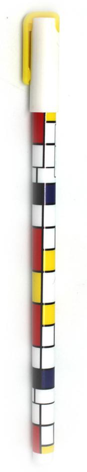 Минималистичная ручка в лучших традициях художника Пита Мондриана. Строгость линий и насыщенность красок превращают ручку в настоящее произведение искусства, а тонкий стержень и удобство формы позволят создавать с ее помощью новые шедевры. Чернила черные.