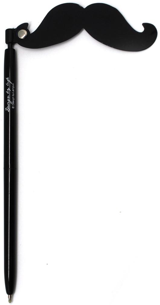 Порой наличие ручки под рукой может спасти весь мир или развеселить вас. Особенно если это забавная гелевая ручка с усами. Чернила черные.