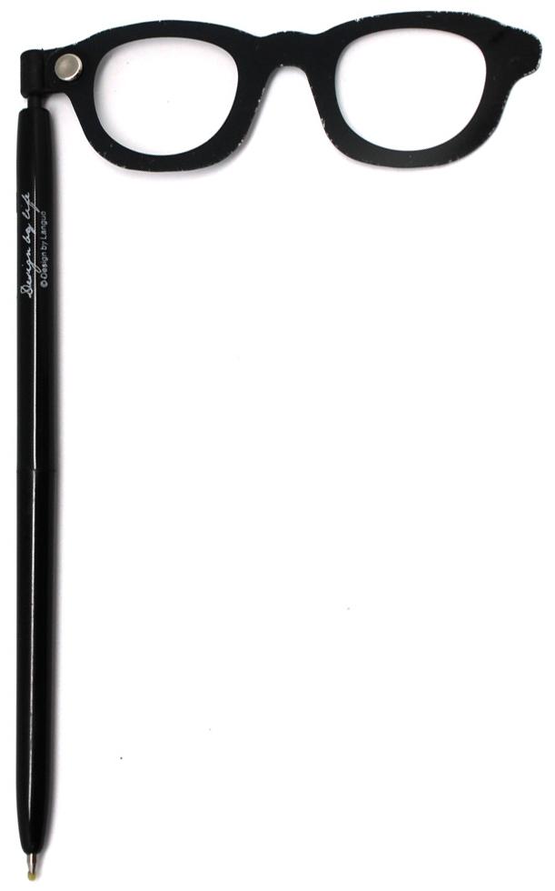 Еж-стайл Ручка гелевая For fun Очки цвет чернил черный0909056Порой наличие ручки под рукой может спасти весь мир или развеселить вас. Особенно если это забавная гелевая ручка с очками. Чернила черные.