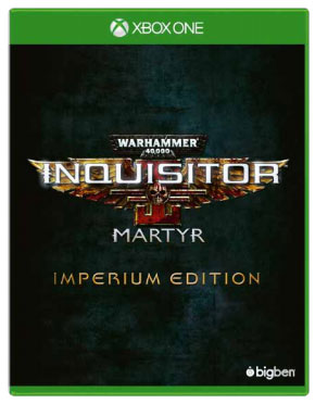 Warhammer 40,000: Inquisitor - Martyr. Imperium Edition (Xbox One) warhammer 40 000 inquisitor – martyr imperium edition [xbox one]
