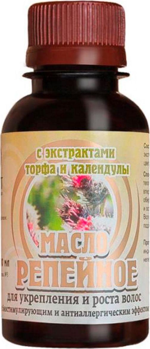 Биолит Репейное масло с экстрактами торфа и календулы 100 мл