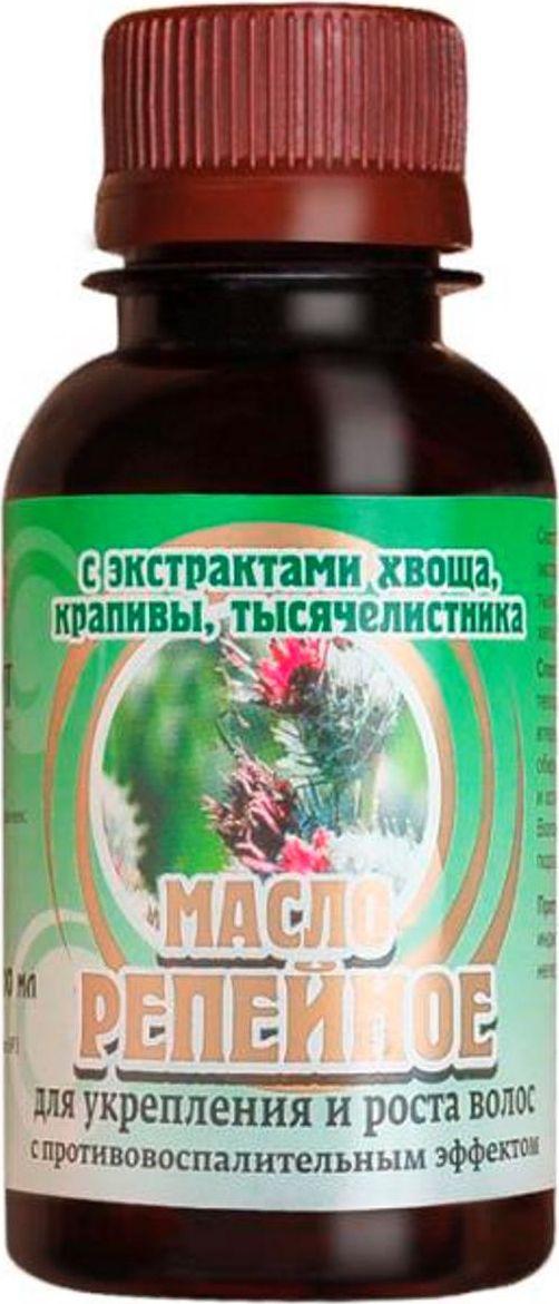 Биолит Репейное масло с экстрактами хвоща, крапивы и тысячелистника, 100 мл