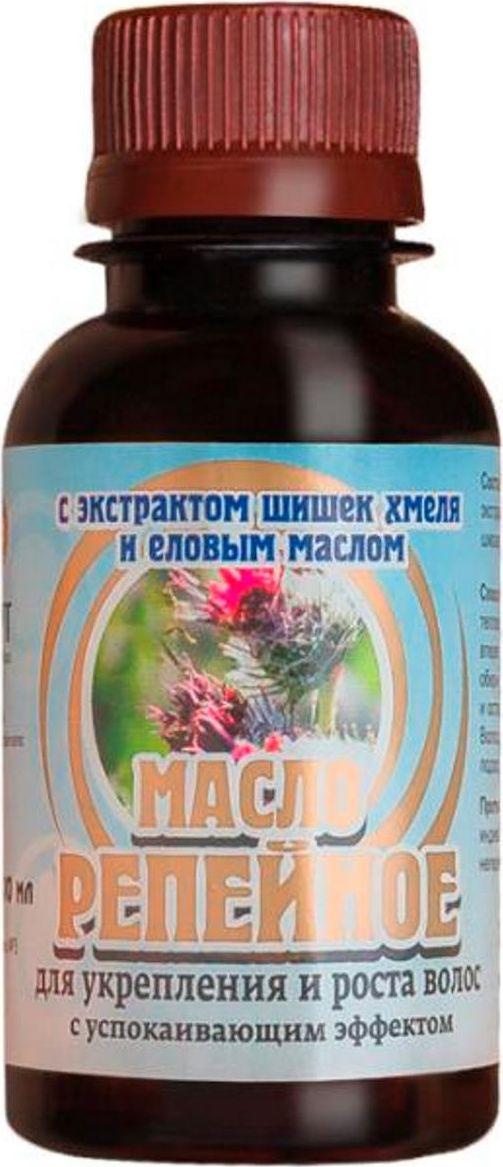 Биолит Репейное масло с экстрактом хмеля и еловым маслом, 100 мл