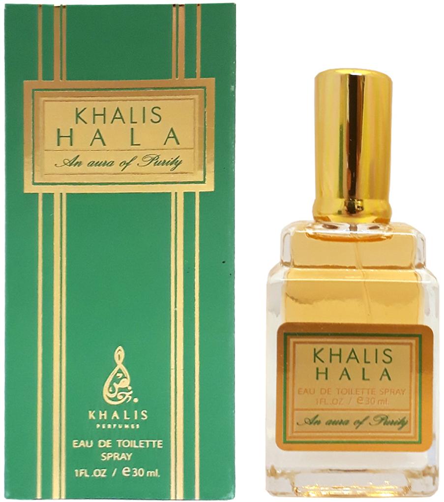 Khalis Hala Туалетная вода, 30 млKH215734KHALIS HALA туалетная вода 30 мл спрей. Принадлежит к группе: восточные цветочные. Основные ноты: белые цветы, иланг-иланг, амбра.