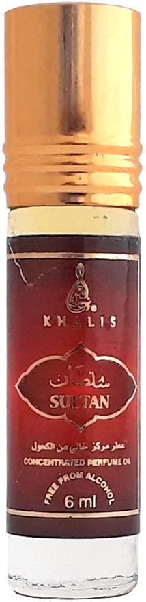 Khalis Rolline Sultan Духи, 6 млKH215762ROLLINE SULTAN духи 6 мл. Принадлежит к группе: восточные. Основные ноты: цитрусы, мускус, амбра.