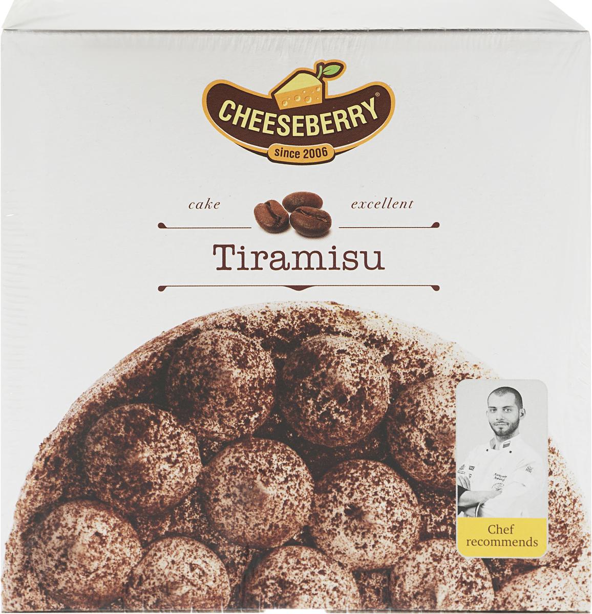 Cheeseberry Торт Тирамису, 350 г протеин qnt протеин metapure zero carb вкус тирамису 2 кг