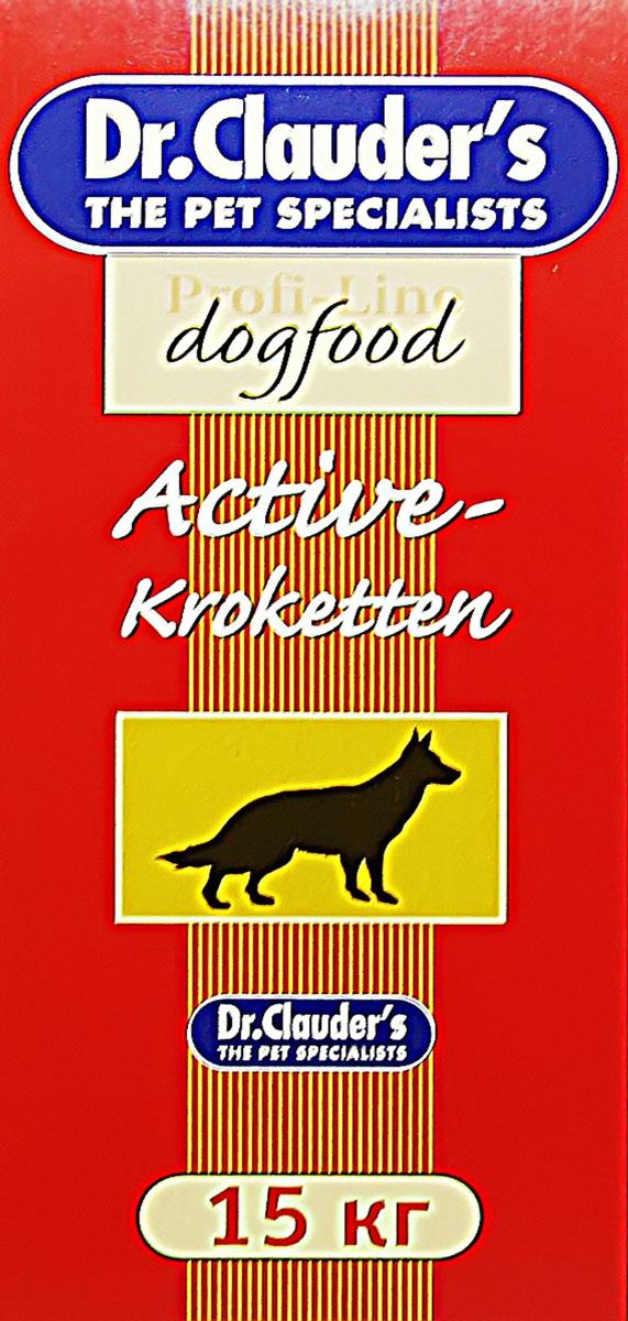 Корм сухой Dr. Clauder's Асtive для собак, 15 кг