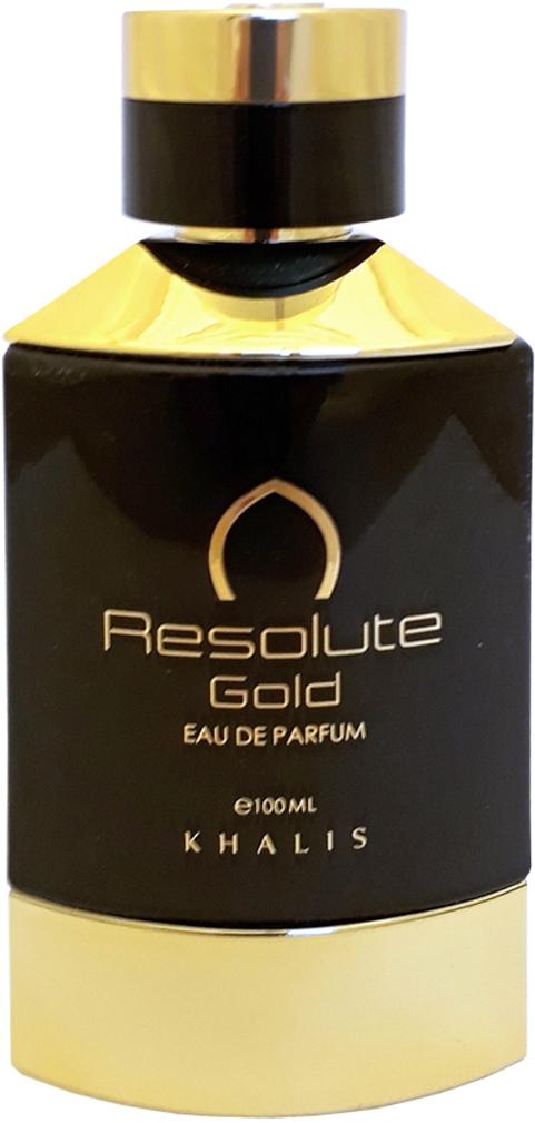 Khalis Frline Resolute Gold Pour Homme Парфюмерная вода мужская, 100 мл