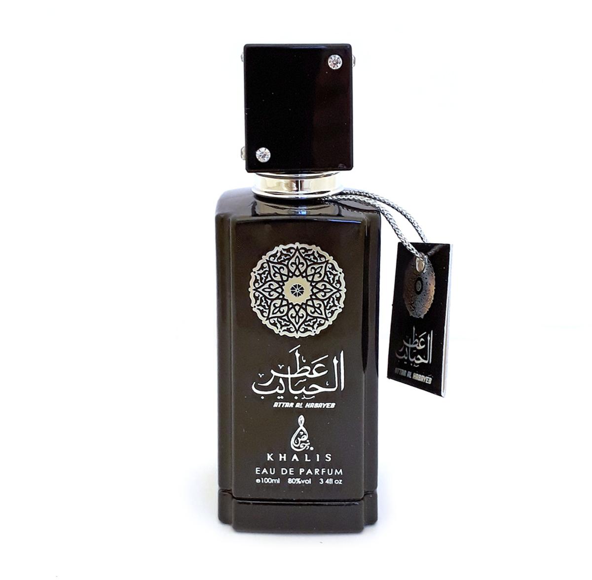 Khalis Arline Attar Al Habayeb Парфюмерная вода, 100 млKH215662ARLINE ATTAR AL HABAYEB туалетные духи 100 мл спрей. Принадлежит к группе кожаные ароматы. Основные ноты: лабданум, смолы, древесина, кожа, амбра.