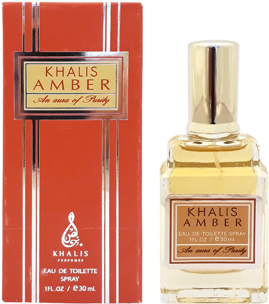 Khalis Amber Туалетная вода, 30 мл ferre l uomo туалетная вода спрей 30 мл