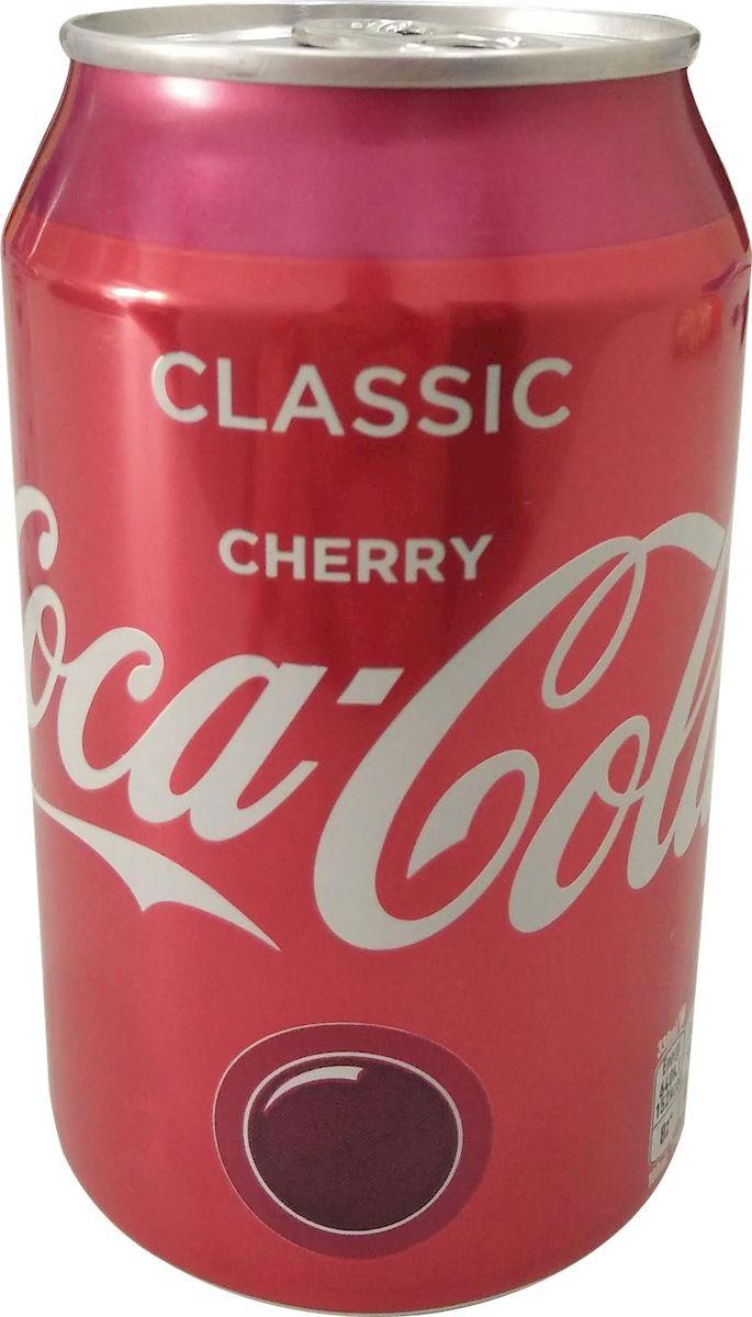 Coca Cola Cherry напиток сильногазированный, 330 мл coca cola vanilla нижний новгород
