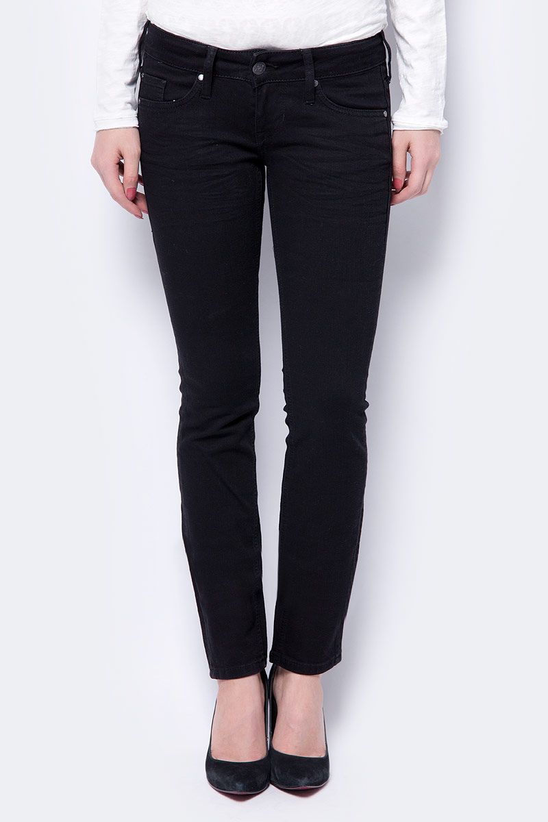 Джинсы женские Mustang Gina Skinny, цвет: черный. 3588-5488-493_4000-942. Размер 29-32 (44/46-32) yaromir yar 2003m thermose 1000ml vacuum flask thermose travel sports climb thermal pot insulated vacuum bottle stainless steel