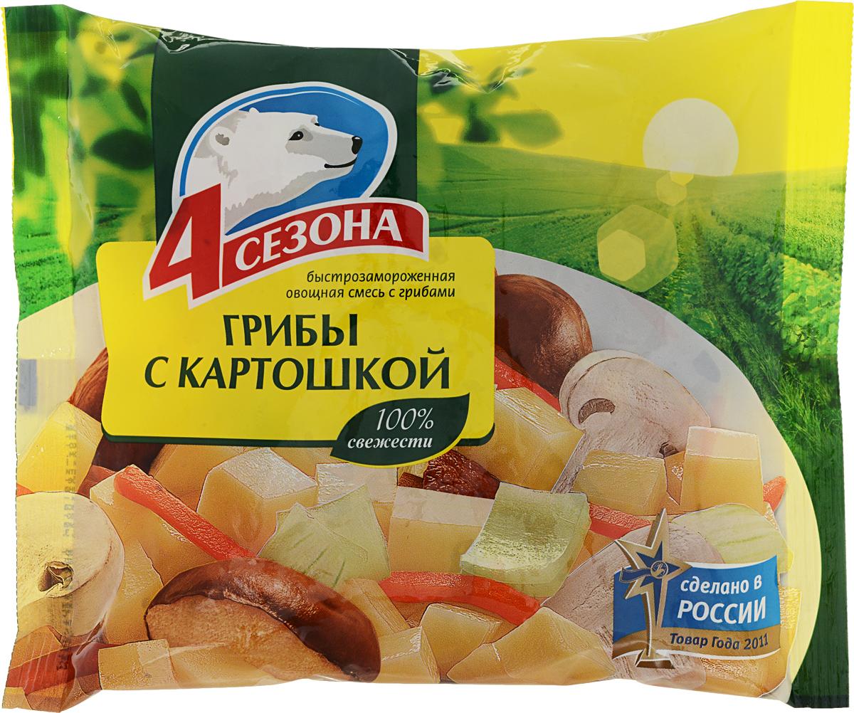 4 Сезона Грибы с картошкой, 400 г