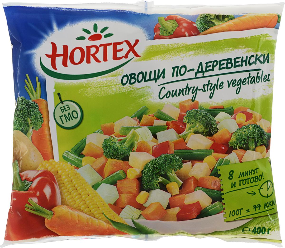 Hortex Овощи по-деревенски, 400 г индикатор качества смеси в москве