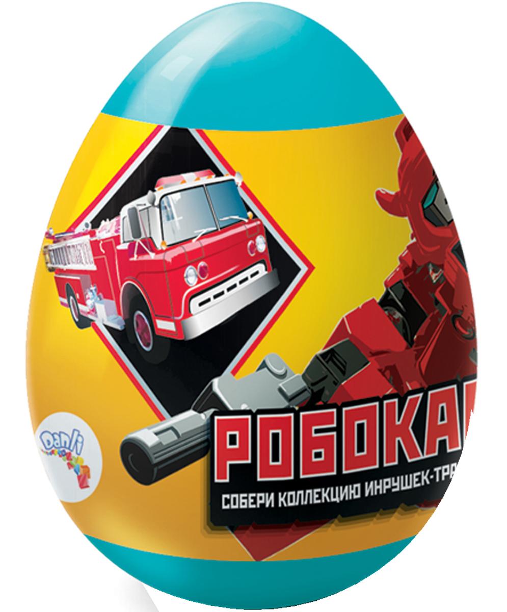 Данли Робокары сахарное драже в капсуле, 10 г paw patrol драже с игрушкой 10 г