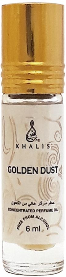 Khalis Rolline Golden Dust Духи, 6 млKH215767ROLLINE GOLDEN DUST духи 6 мл. Принадлежит к группе: восточные. Основные ноты: цитрусы, мускус, древесина.