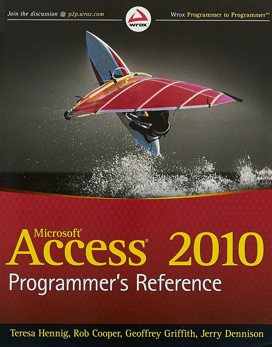 Access 2010 Programmer?s Reference