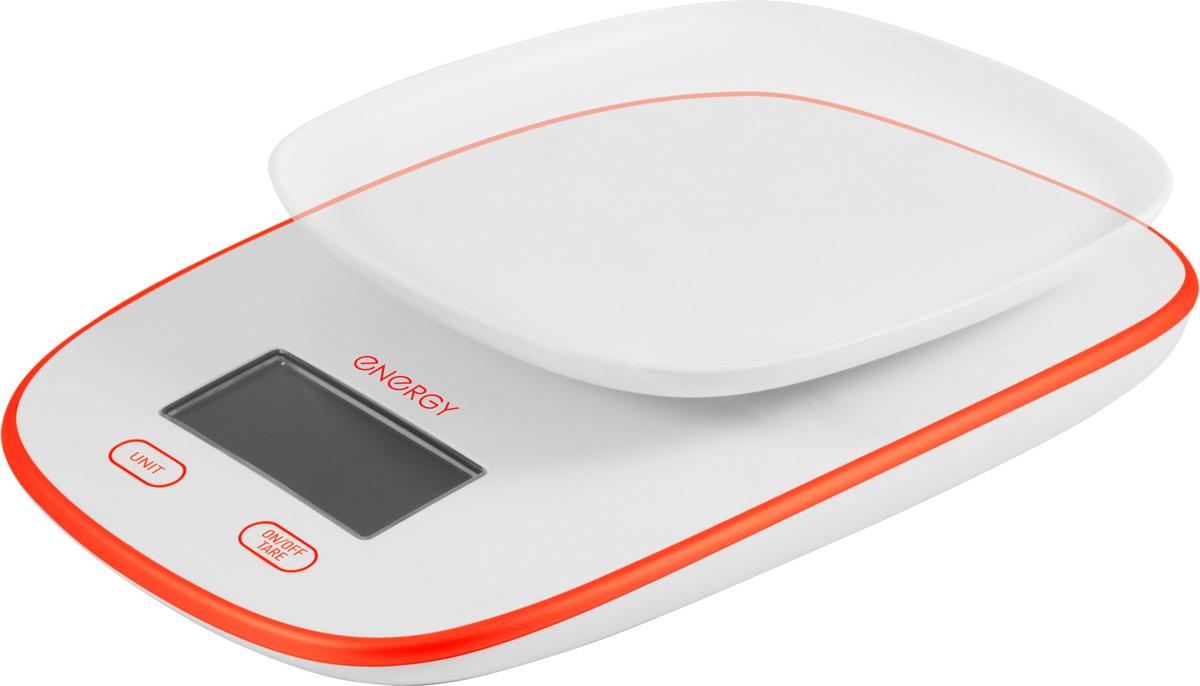 Energy EN-422, White Orange кухонные весы