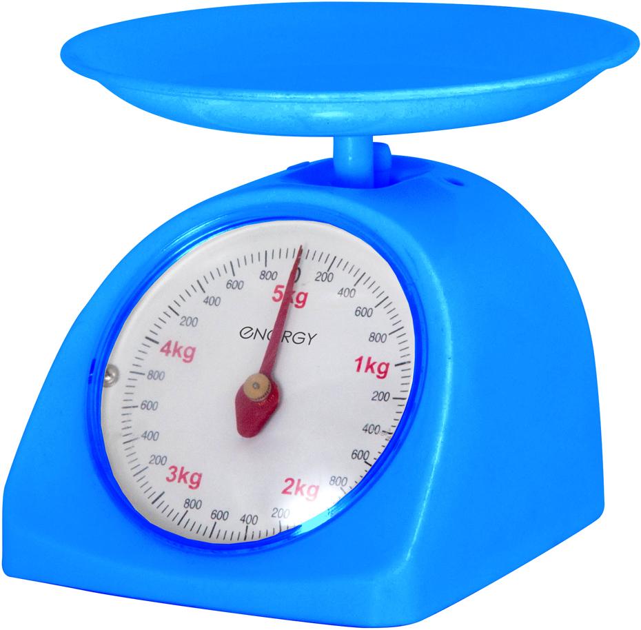 Energy EN-405МК, White Blue кухонные весы159682Максимальная нагрузка: 5 кгЦена деления: 40 граммНадежный механизмЧаша круглой формыПростой и быстрый способ проверить вес продуктов и других товаров