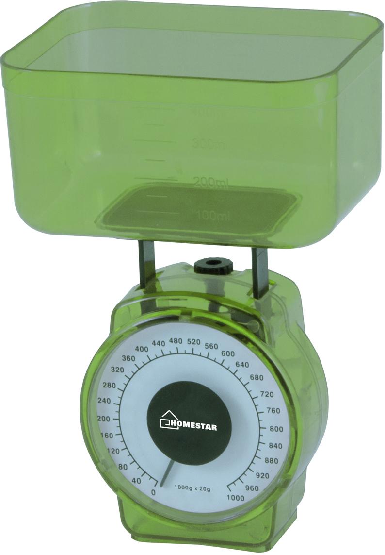 HomeStar HS-3004М, Green кухонные весы