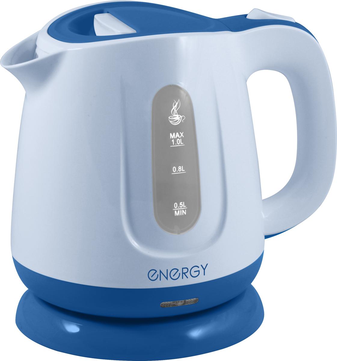 Energy E-234, White Blue электрический чайник energy